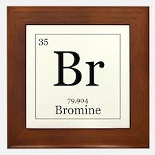 Elements - 35 Bromine Framed Tile