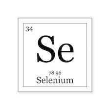 """Elements - 34 Selenium Square Sticker 3"""" x 3"""""""
