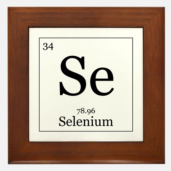Elements - 34 Selenium Framed Tile