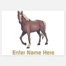 Personalized Horse Invitations