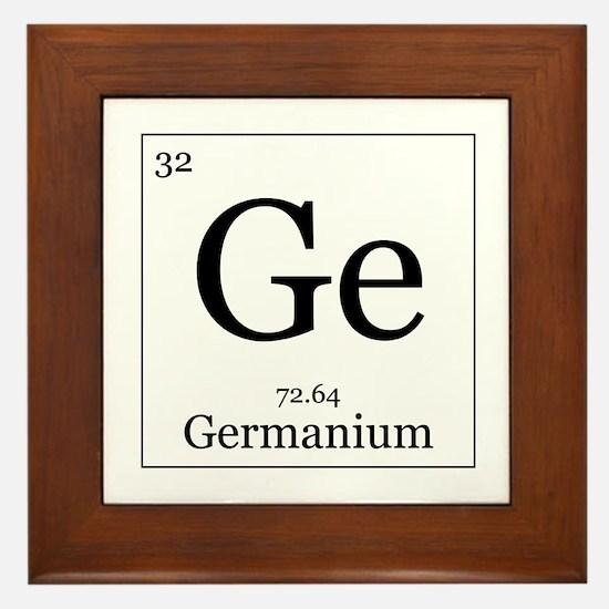 Elements - 32 Germanium Framed Tile