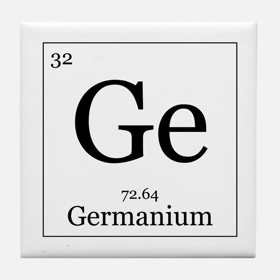 Elements - 32 Germanium Tile Coaster