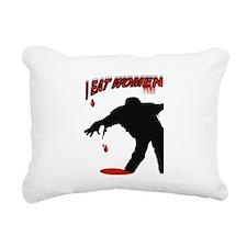 Cute Zombie girl Rectangular Canvas Pillow