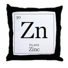 Elements - 30 Zinc Throw Pillow