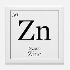 Elements - 30 Zinc Tile Coaster