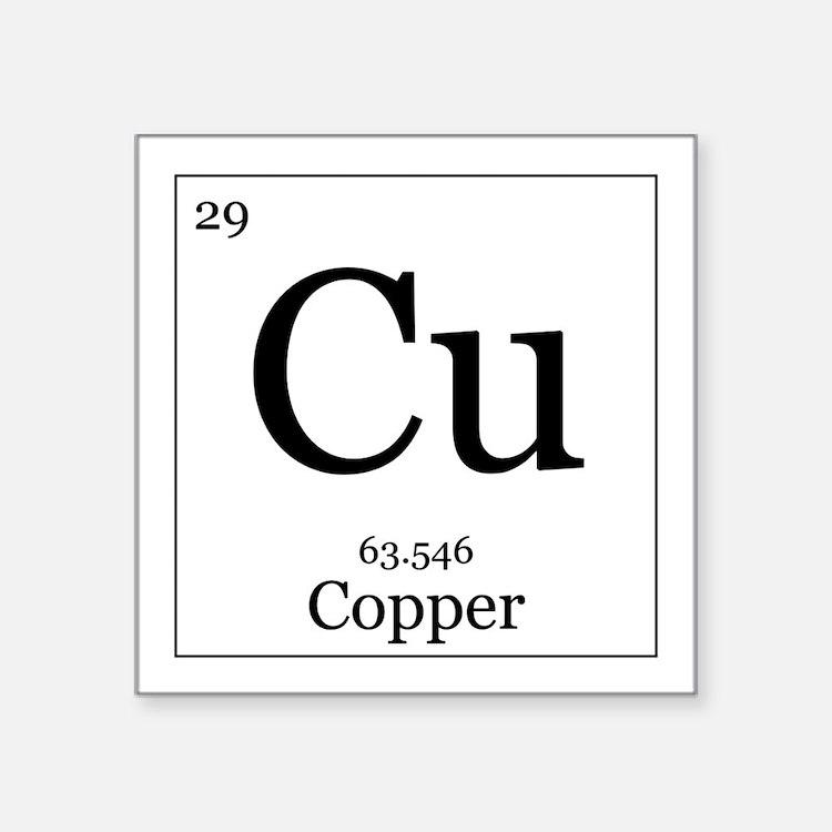 Aluminum License Plate Frame >> Periodic Table Copper Car Accessories | Auto Stickers ...