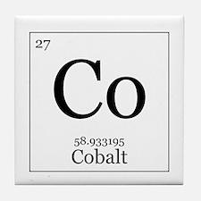 Elements - 27 Cobalt Tile Coaster