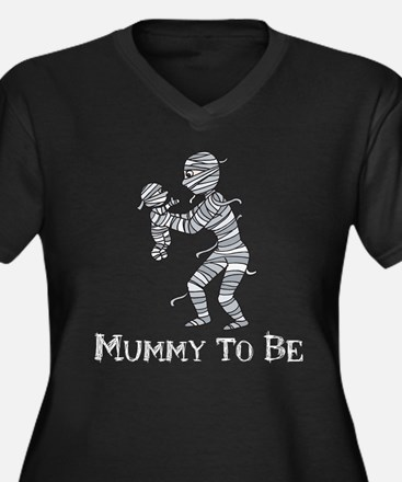 Halloween Mummy Plus Size T-Shirt