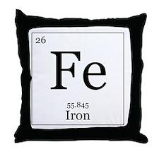 Elements - 26 Iron Throw Pillow