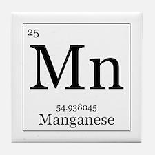 Elements - 25 Manganese Tile Coaster