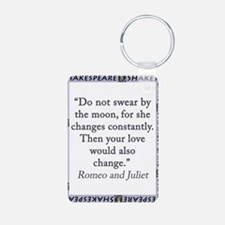 Do Not Swear By The Moon Keychains