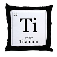 Elements - 22 Titanium Throw Pillow