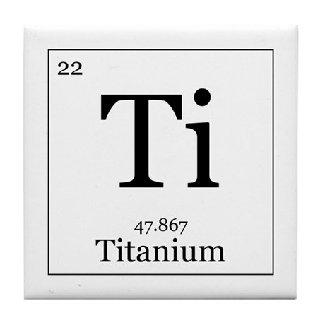 Elements - 22 Titanium Tile Coaster