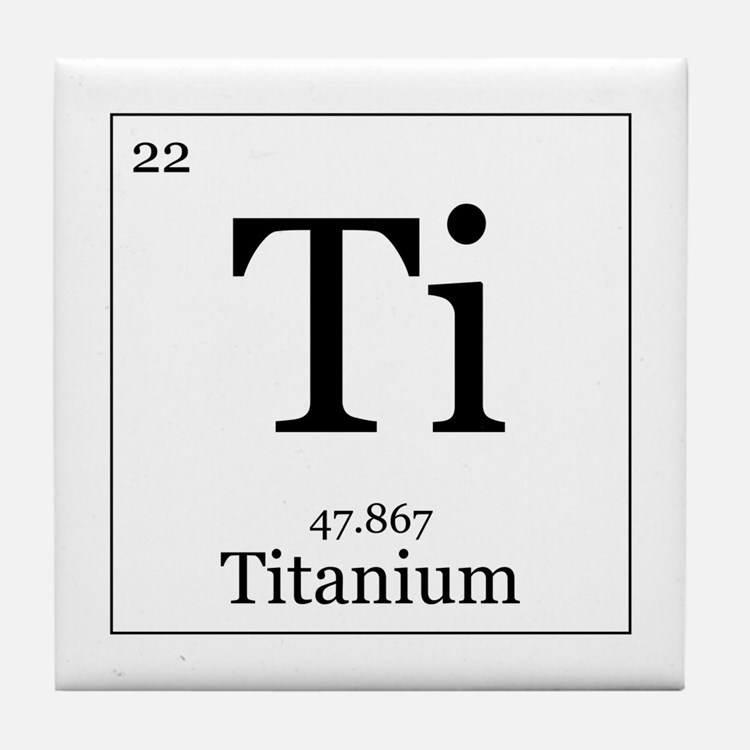 periodic table and titanium