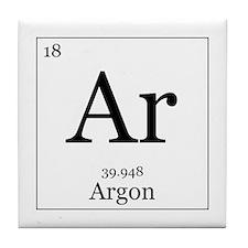 Elements - 18 Argon Tile Coaster