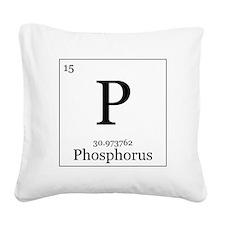 Elements - 15 Phosphorus Square Canvas Pillow