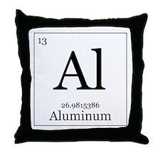 Elements - 13 Aluminum Throw Pillow