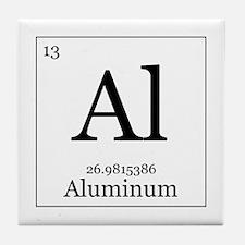 Elements - 13 Aluminum Tile Coaster