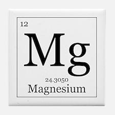 Elements - 12 Magnesium Tile Coaster