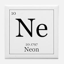 Elements - 10 Neon Tile Coaster