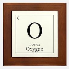 Elements - 8 Oxygen Framed Tile