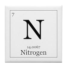 Elements - 7 Nitrogen Tile Coaster