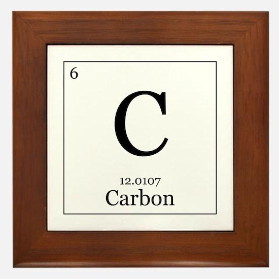 Elements - 6 Carbon Framed Tile