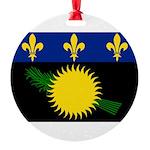 Guadeloupe.jpg Round Ornament