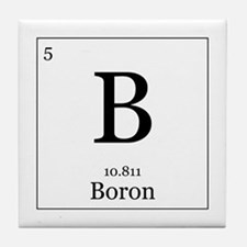 Elements - 5 Boron Tile Coaster