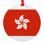 Hong Kong.jpg Round Ornament