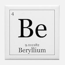 Elements - 4 Beryllium Tile Coaster
