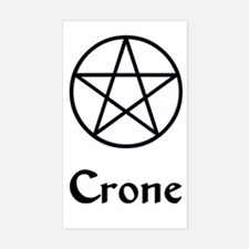 """Crone"" Rectangle Decal"