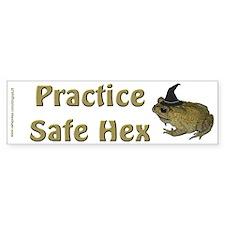 """""""Safe Hex"""" Bumper Bumper Sticker"""
