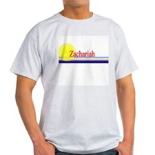 Zachariah Ash Grey T-Shirt