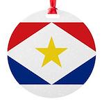 Saba.jpg Round Ornament