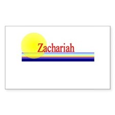 Zachariah Rectangle Decal