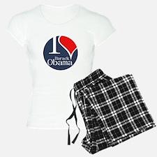I Heart Obama Pajamas