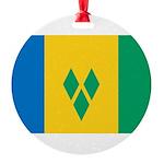 Saint Vincent and the Grenadines.jpg Round Ornamen