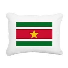 Suriname.jpg Rectangular Canvas Pillow