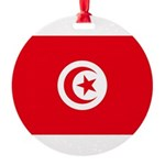 Tunisia.jpg Round Ornament