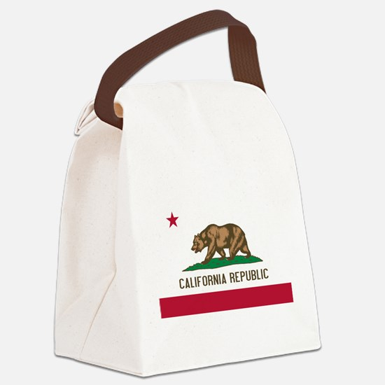 California.jpg Canvas Lunch Bag