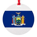 New York.jpg Round Ornament