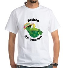 Retired HR Manager Gift Shirt