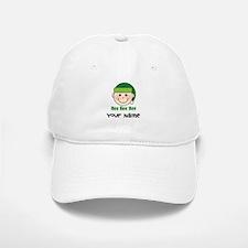 Personalized Christmas Elf Baseball Baseball Cap
