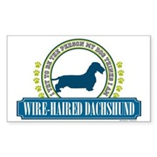 Dachshund [wire-haired] Decal