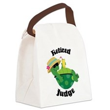 Retired Judge Gift Canvas Lunch Bag