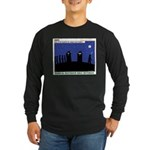 Restroom Role Reversal Long Sleeve Dark T-Shirt