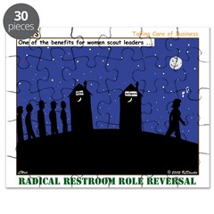 Restroom Role Reversal Puzzle