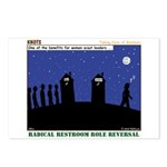 Restroom Role Reversal Postcards (Package of 8)