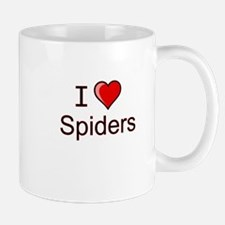 i love spiders heart Mug